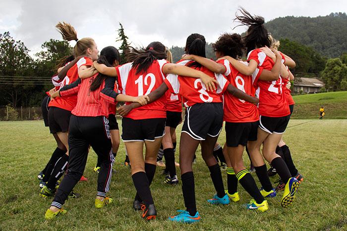girls soccer athletics
